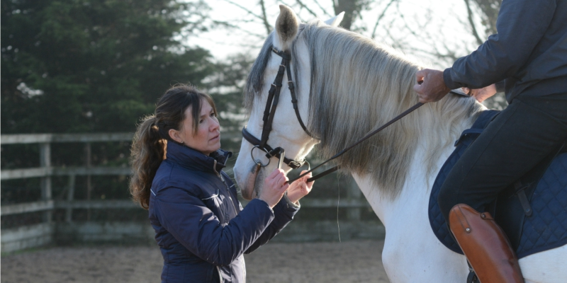 The Secret of a Balanced Rider | Finding your Core | Biomechanics Horse Riding Instructor